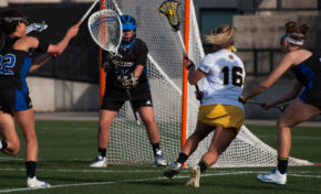 Women's lacrosse crushes Detroit Mercy, falls to Central Michigan