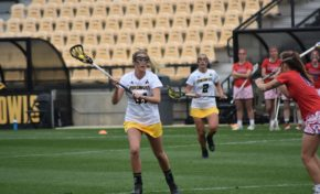 Last-second shot gives lacrosse third straight win