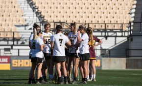 LAX wins first game of season, falls short in OT
