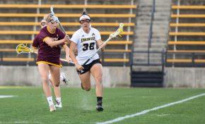 Gore scores hat-trick as lacrosse falls in season opener