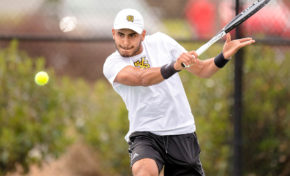 Tennis star poised for big senior campaign