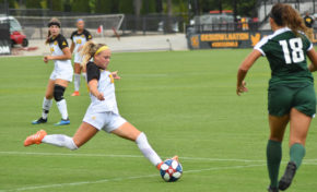 Sosa scores twice, Soccer splits conference matches