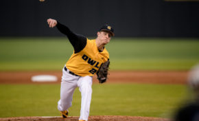 Baseball suffers first loss of season, drops 2 of 3 over weekend