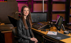 Dance alumna combines talents, kicks off stage managing career