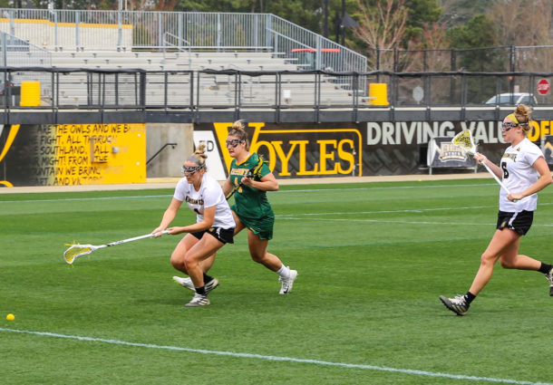 Lacrosse struggles in first half, falls to Vermont at home