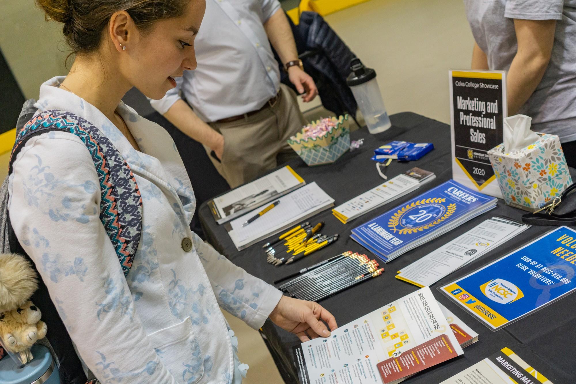 KSU holds first Coles College Showcase