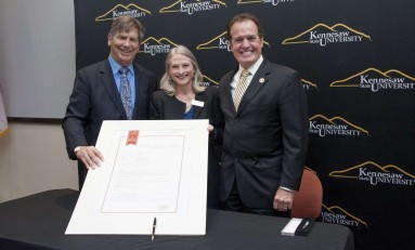 Georgia Congressman Donates His Official Papers to KSU's Archives