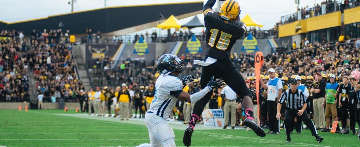 Aerial attack leads offense in blowout win