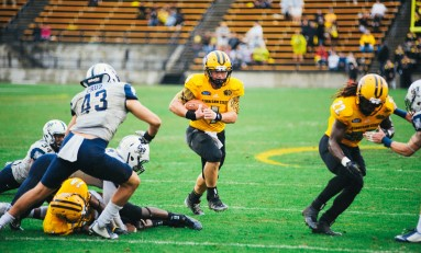 Owls lose final home game to Big South leaders