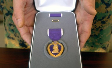 KSU's Purple Heart Day and Proclamation Signing April 21