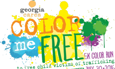 Georgia Cares Color Me Free 5K Color Run is July 30th