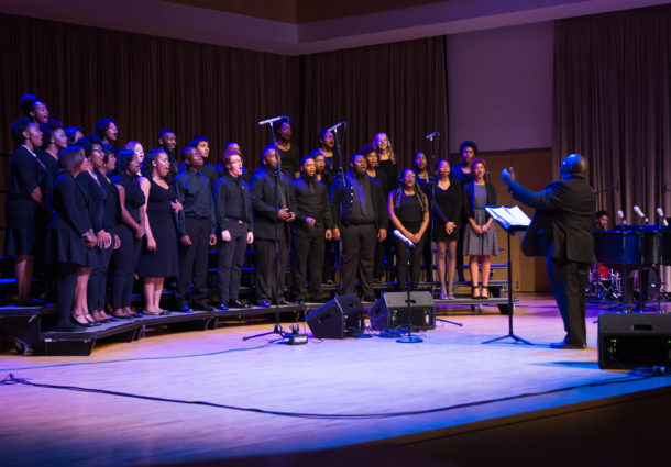 Gospel choir gives memorable performance
