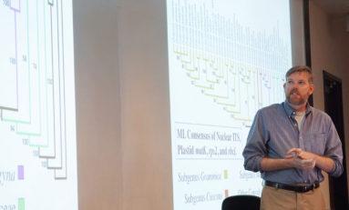 Biology seminar discusses rare transgenic organism