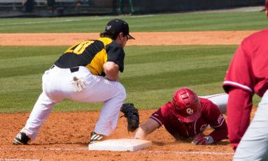Baseball falls to nationally-ranked Sooners