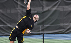 Simon Pritchard voted 'Best Male Athlete' by Kennesaw campus