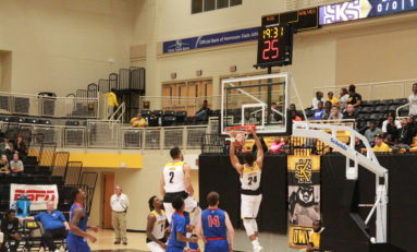 Lockley dominates in Owls' blowout win over West Georgia