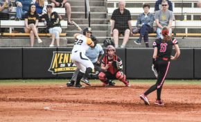 Softball sweeps shortened weekend series
