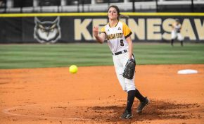 Softball beats FGCU twice after win against GT