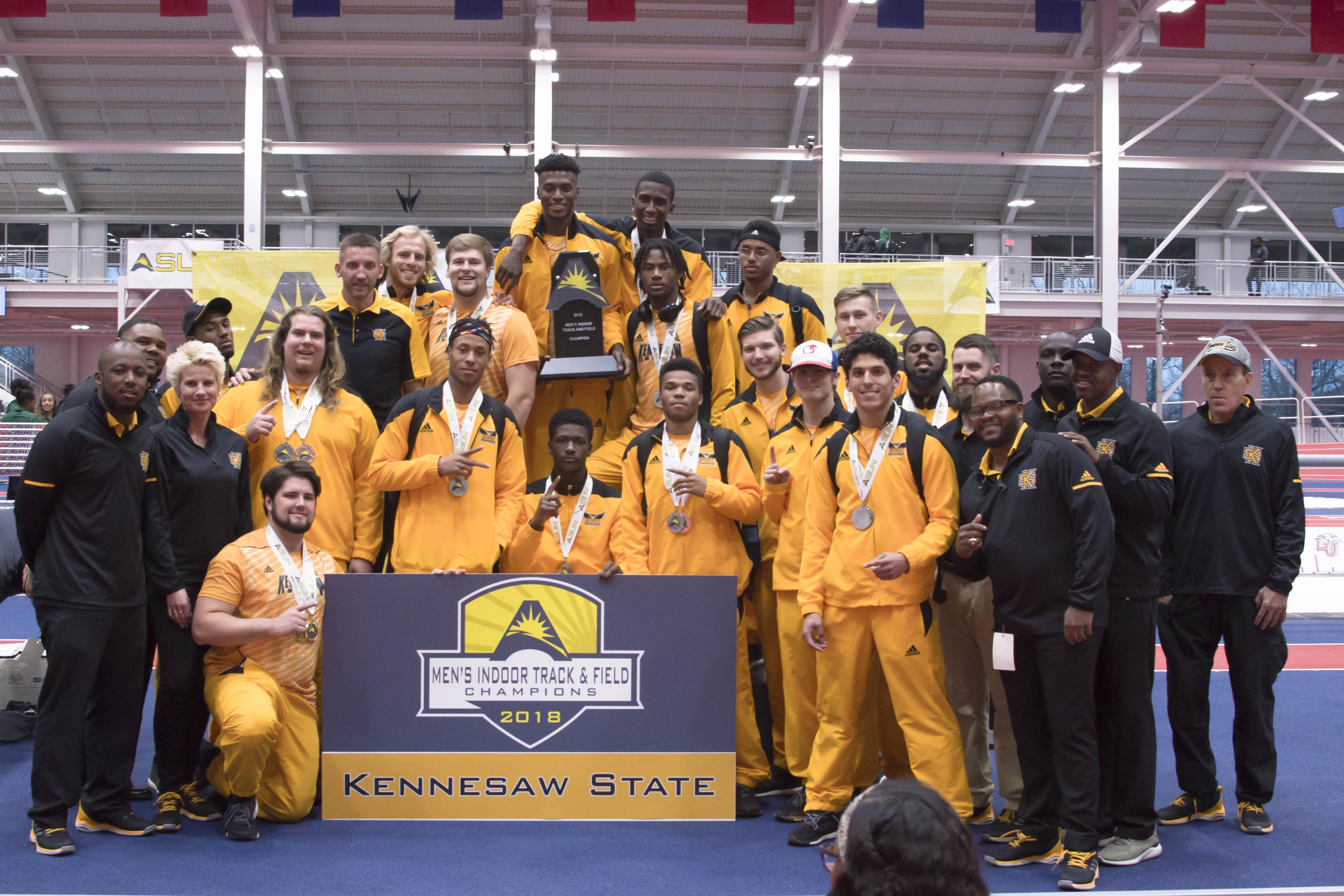 Track teams fall short at ASUN Indoor Championships