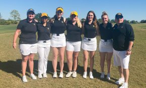 A year since conference title, women's golf team continues to improve