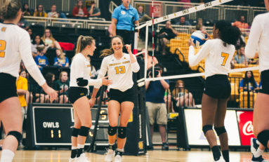 Volleyball defeats Alabama, falls short in Gamecock Invitational