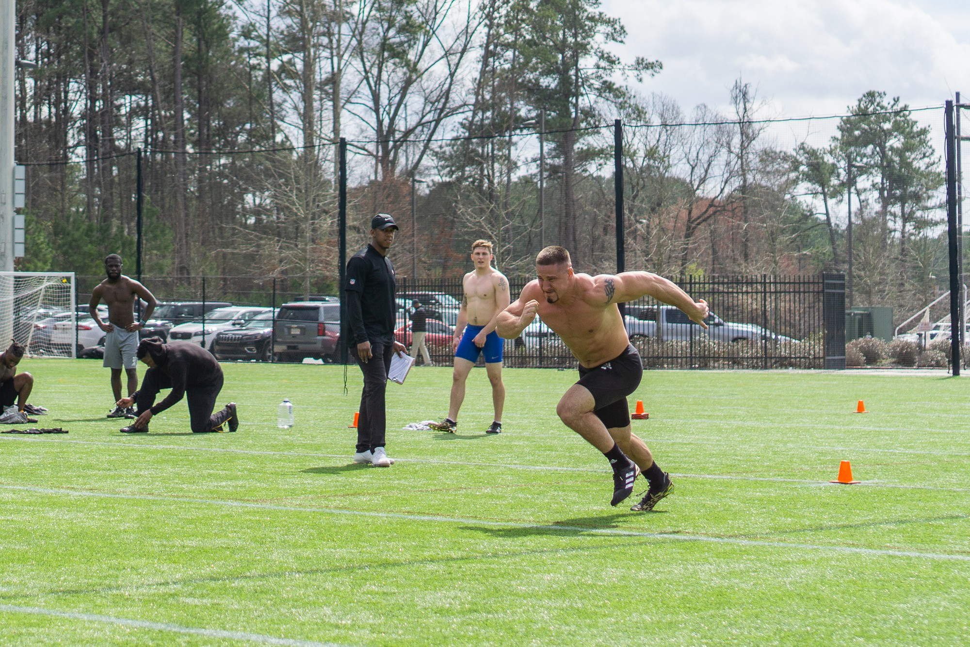 Football program welcomes NFL scouts for 2020 Pro Day
